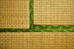 Stuoia di Tatami Fotografie Stock
