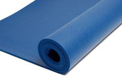 Stuoia di yoga Fotografie Stock