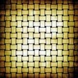 Stuoia gialla beige di lerciume astratto Immagine Stock Libera da Diritti