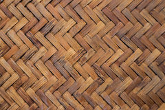stuoia tessuta bambù Immagini Stock Libere da Diritti