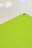 Stuoia verde del silicone Fotografia Stock
