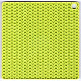 Stuoia verde del silicone Immagine Stock