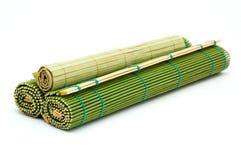 Stuoie di bambù Immagine Stock Libera da Diritti