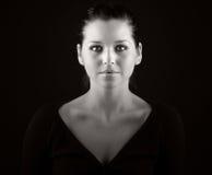 stupéfaction de brunette de l'adolescence Image libre de droits
