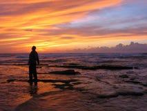 Stupéfait par le coucher du soleil II Image libre de droits