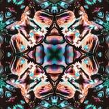 Stupéfier d'Inde de fractale d'aquarelle Photo libre de droits