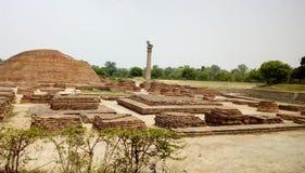 Stup del shanti de Vaishali Imagen de archivo