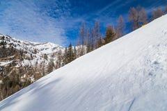 Stup på en Ski Resort royaltyfri bild