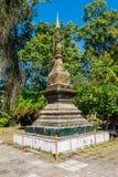 Stupa在琅勃拉邦,老挝 免版税库存照片