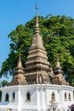 Stupa在琅勃拉邦,老挝 库存照片