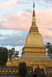 Stupa在Muang Xai,老挝 免版税库存图片