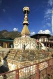 Stupa在Rangjung不丹 免版税库存图片