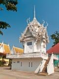 stupa白色 库存照片