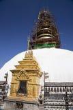 stupa ανακαίνισης του Νεπάλ swayambun Στοκ φωτογραφίες με δικαίωμα ελεύθερης χρήσης