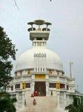 Stupa ειρήνης του Βούδα Στοκ Εικόνες