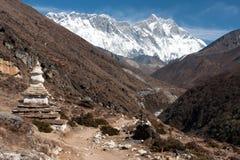 Stupa σε Pangboche στοκ φωτογραφίες με δικαίωμα ελεύθερης χρήσης