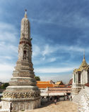 Stupa σε Wat Arun Στοκ φωτογραφίες με δικαίωμα ελεύθερης χρήσης