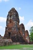 Stupa σε Wat Maha That σε Ayutthaya Στοκ Φωτογραφία
