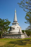 Stupa στο αρχαίο Σιάμ Στοκ Εικόνα