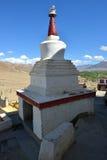 Stupa στο μοναστήρι Thiksey, Ladakh, Ινδία Στοκ Φωτογραφία