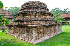 Stupa στο ayudhya Στοκ Εικόνες