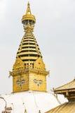 stupa του Κατμαντού swayambhunath Στοκ Εικόνες