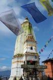 stupa του Νεπάλ Στοκ Εικόνα