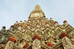 Stupa του wat aroon Μπανγκόκ Ταϊλάνδη Στοκ Φωτογραφίες