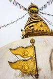 Stupa виска Swayambunath, Катманду, Непала стоковое фото