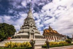 Stupa в дворце Бангкока, Таиланде стоковая фотография