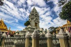 Stupa в Пномпень, Камбодже стоковое фото rf
