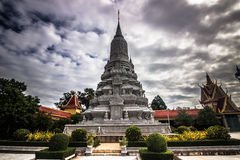 Stupa в Siem Reap, Камбодже стоковые фотографии rf