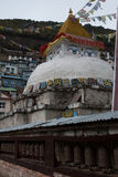 Stupa и колеса молитве Стоковая Фотография RF