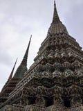 Stupa мозаики на Wat Pho, виске в Таиланде Стоковые Изображения RF