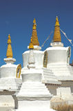 Stupa Stockbild