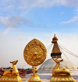 Stupa Fotos de archivo libres de regalías