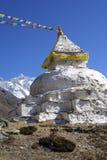 stupa 8000er lothse Νεπάλ Στοκ Εικόνες