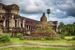 Stupa At Angkor Wat Royalty Free Stock Photos