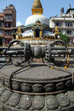 Stupa anmd vajra Royalty Free Stock Photos