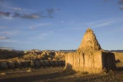 Stupa antigo em Tibet foto de stock royalty free