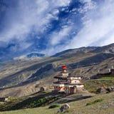 Stupa antiguo del Bon en Dolpo, Nepal foto de archivo libre de regalías
