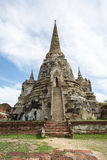 Stupa antiguo en Ayutthaya Imagen de archivo
