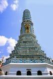 Stupa au temple de Wat Phra Kaew, Bangkok, Thaïlande Photographie stock