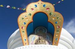 Stupa av den Kalachakra budaen Fotografering för Bildbyråer