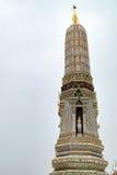 Stupa av Wat Arun i Bangkok, Thailand Arkivfoton