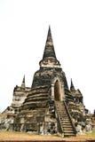 Stupa at Ayudhya Thailand Stock Image