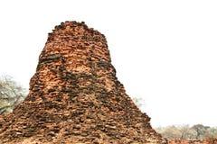 Stupa at Ayudhya Thailand Stock Photo