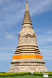 Stupa in Ayutthaya Royalty Free Stock Images