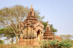 Stupa in Bagan, Myanmar Royalty Free Stock Photography