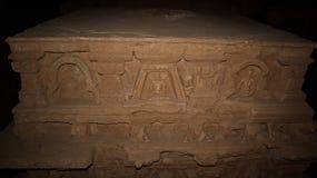 Stupa bei Jaulian ruinierte buddhistisches Kloster, Haripur, Pakistan Eine UNESCO-Welterbest?tte lizenzfreie stockfotografie